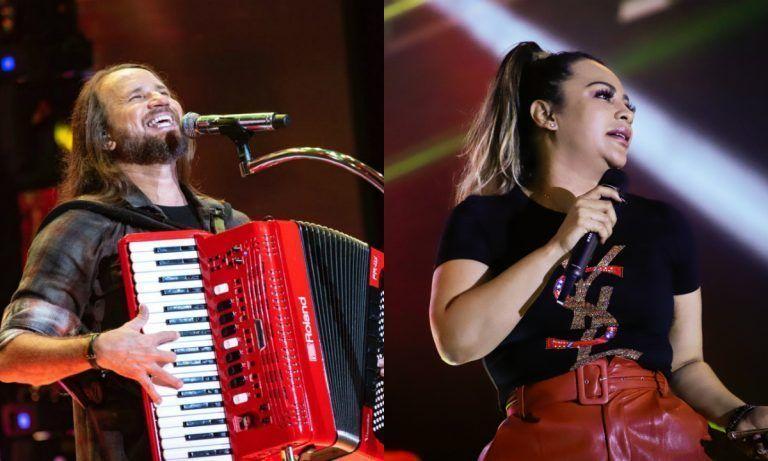 Márcia Felipe e Dorgival Dantas na programação da 16° Festa da Renascença em Pesqueira