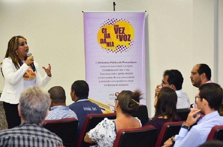 Projeto Cidadania com vez e voz chega a São Caetano, no Agreste