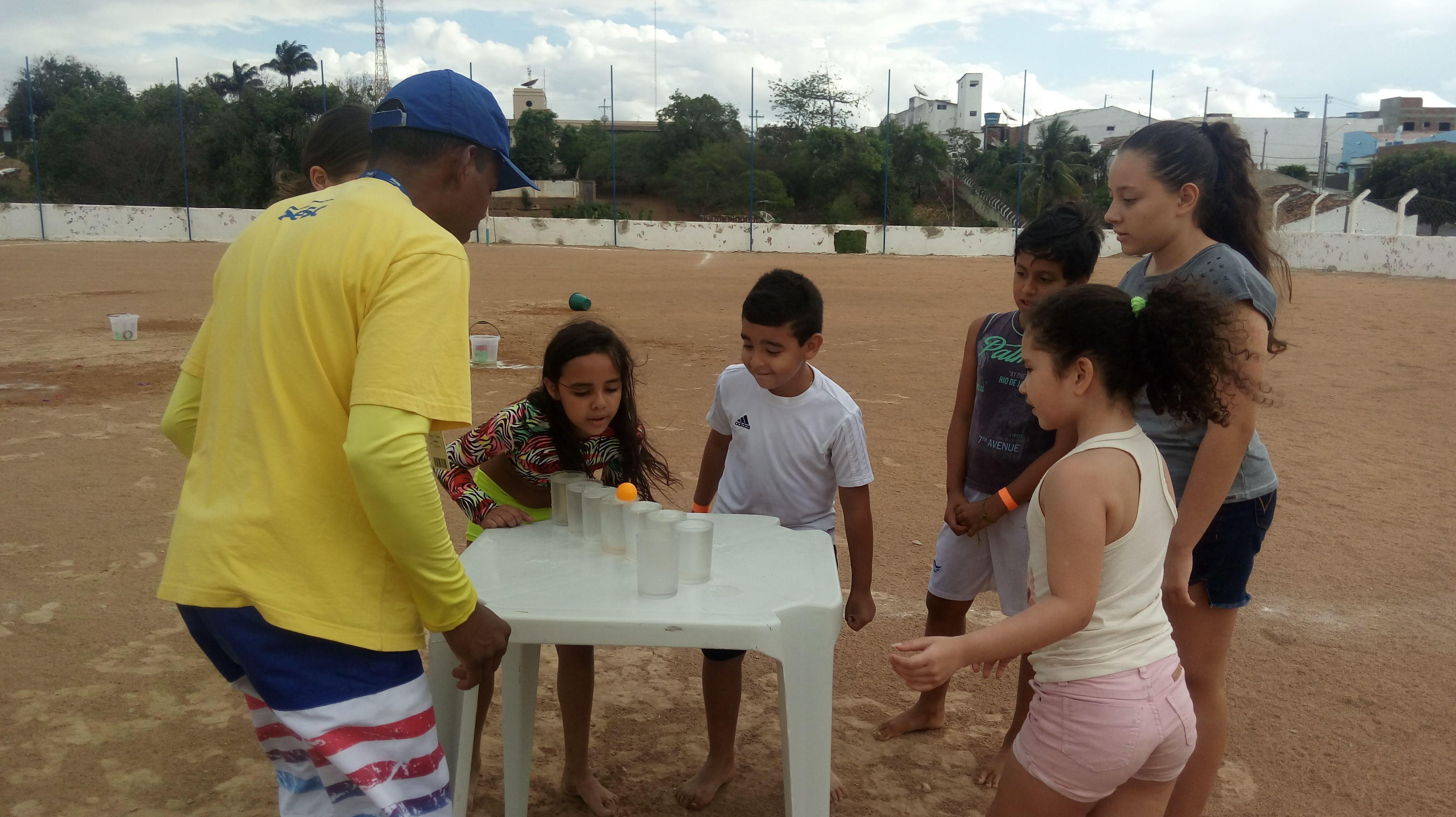 Sesc Pesqueira realiza atividades de lazer no Dia dos Pais