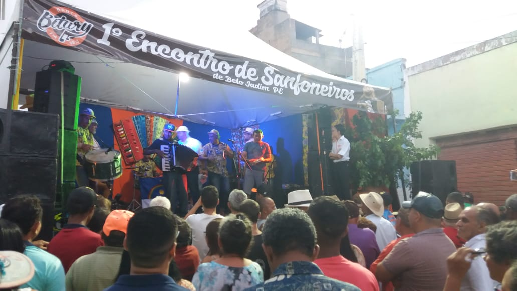 Primeiro encontro de sanfoneiros de Belo Jardim reúne multidão