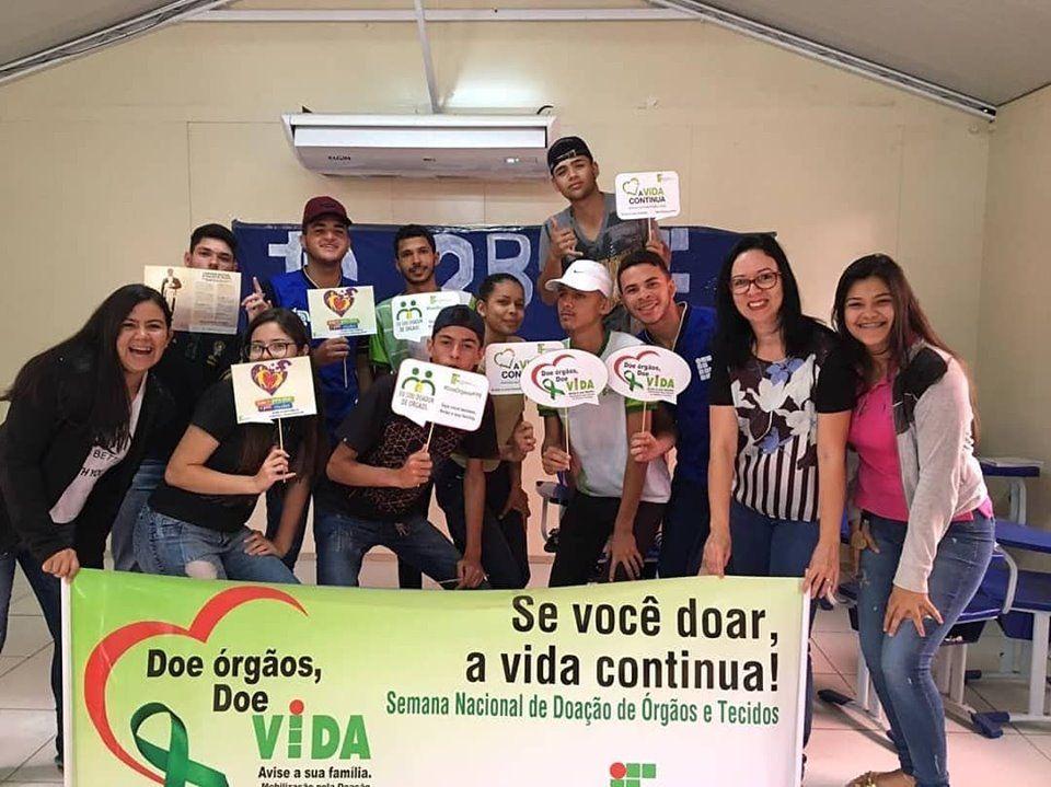 Alunos do IFPE de belo jardim iniciam campanha de incentivo à doação de órgãos