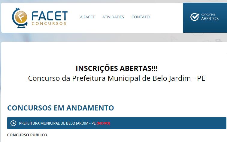 Credibilidade do concurso público de Belo Jardim é posta em xeque