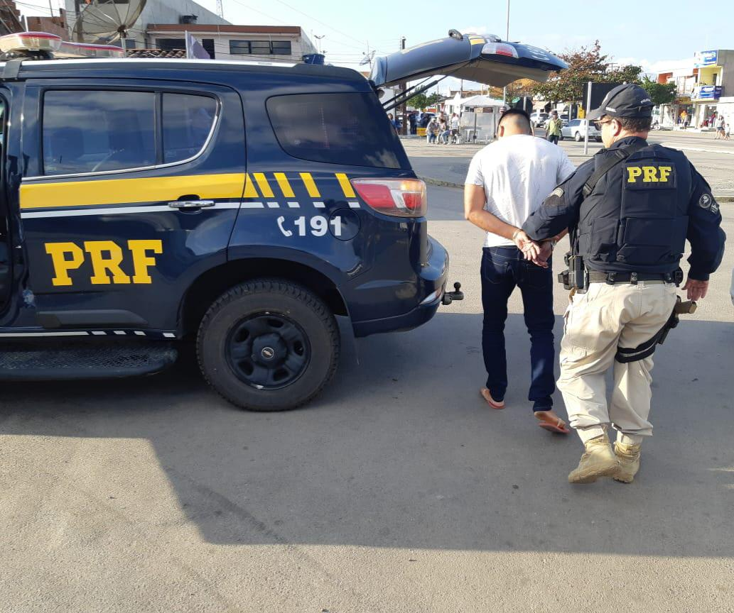 Foragido da Justiça alagoana é capturado pela PRF em Garanhuns