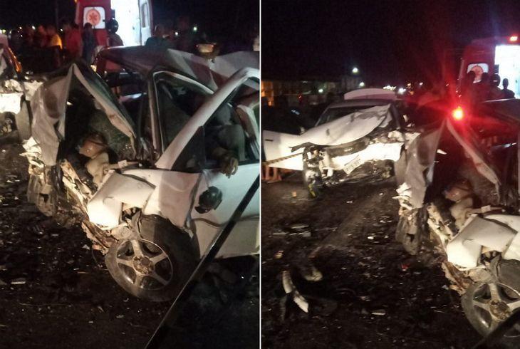 Colisão entre dois carros deixa um morto e dois gravemente feridos em Pesqueira