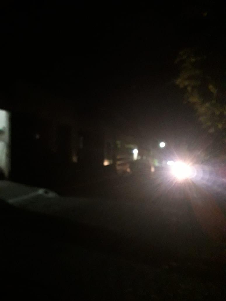 Xucuru está no escuro, reclama moradores
