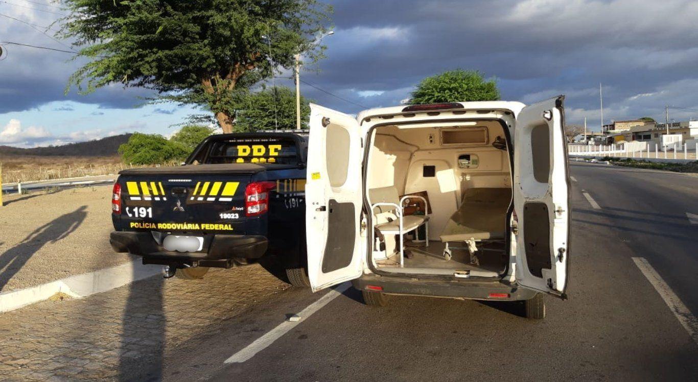 Operação para fiscalizar ambulâncias é realizada em Pernambuco