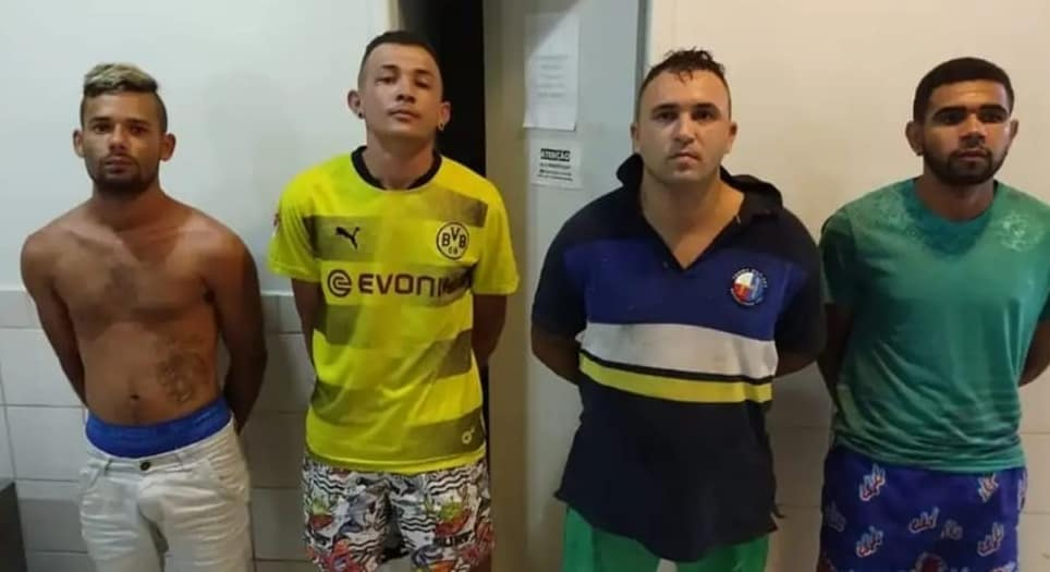Polícia prende grupo suspeito de assaltar residências em Belo Jardim