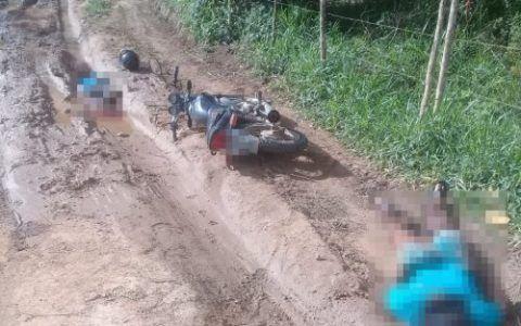 Irmãos assassinados a tiros no dia 25 de setembro na zona rural de Belo Jardim. Foto: Reprodução/WhatsApp