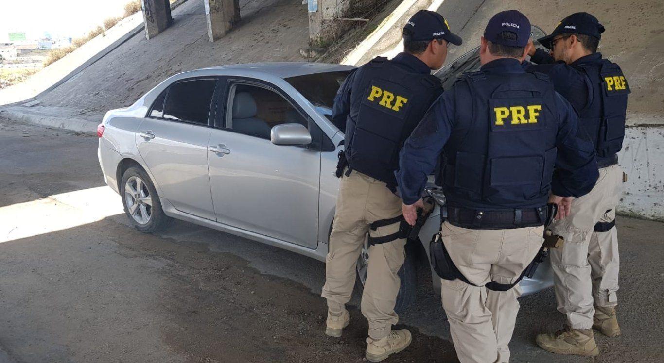PRF recolhe 52 veículos irregulares durante o fim de semana no Agreste