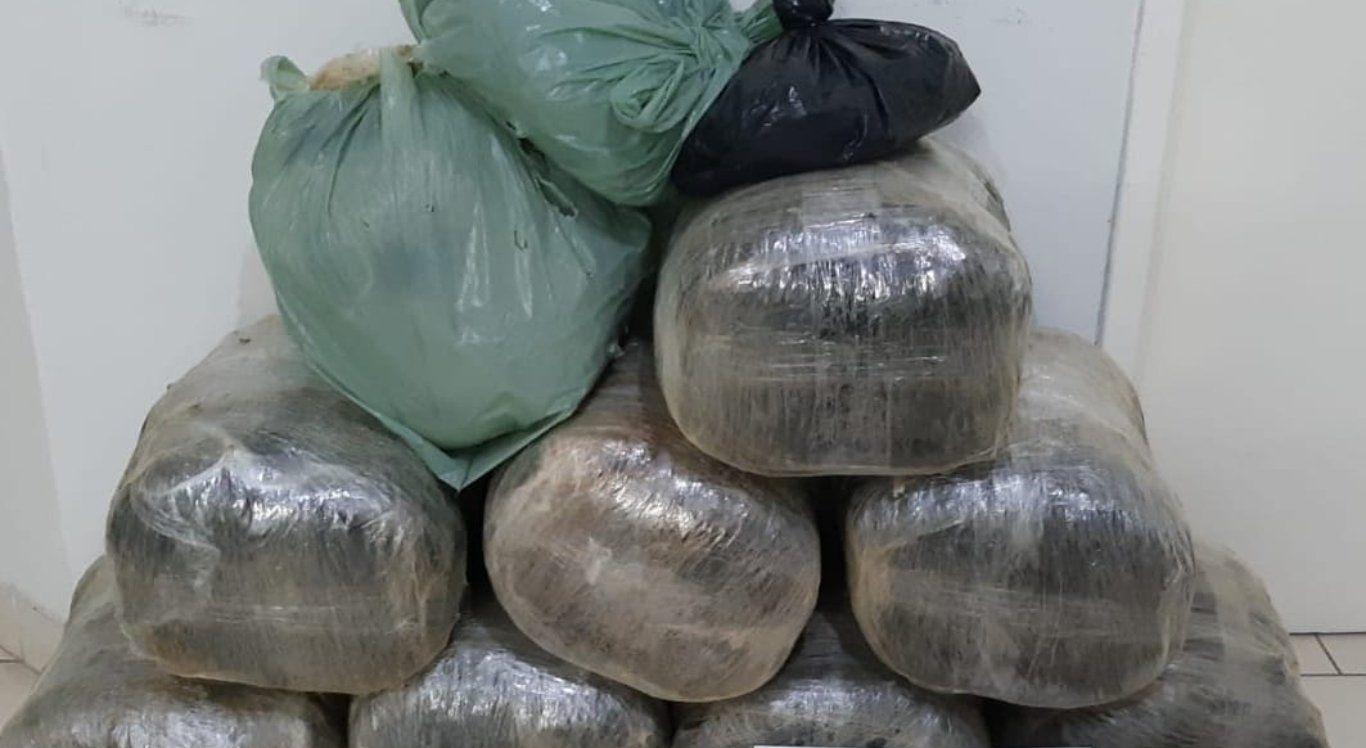 Homem é preso com quase 44 kg de maconha em Garanhuns