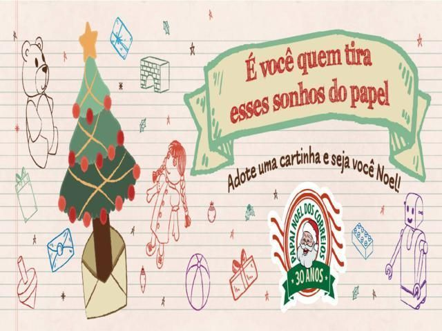 Campanha Papai Noel dos Correios será lançada nesta quinta em Belo Jardim