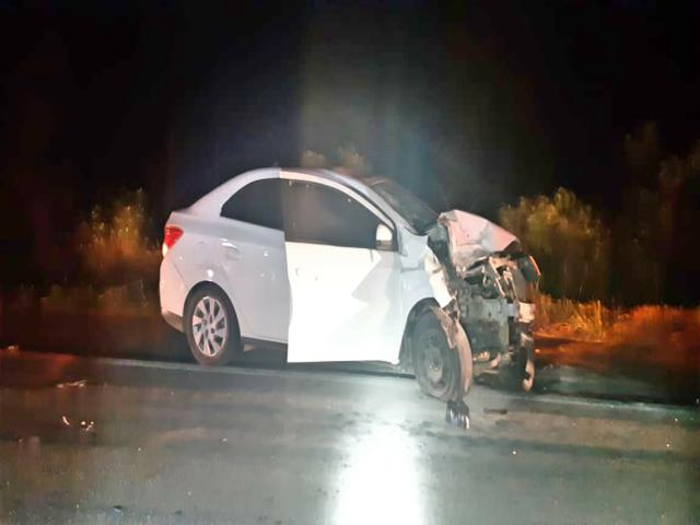 Homem morre após colisão frontal entre carro e moto em Tacaimbó