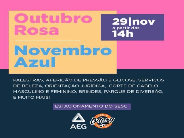 Rádio Bitury promove ação social do Outubro Rosa e Novembro Azul nesta sexta