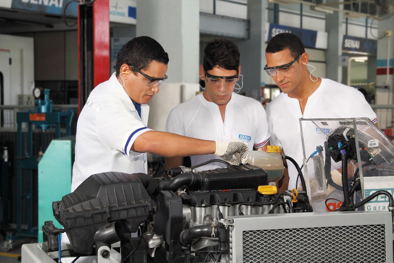 Matrículas abertas para cursos técnicos no SENAI Caruaru