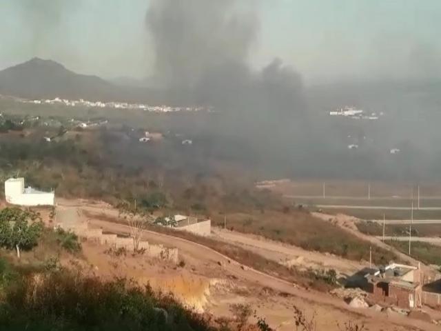 Fábrica da Natto pega fogo em Belo Jardim