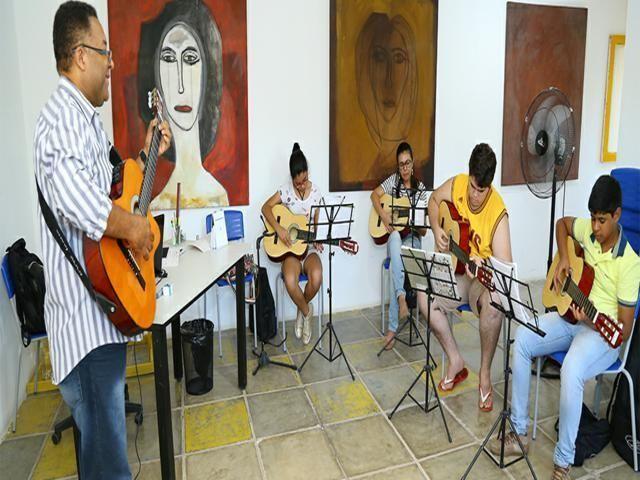 Inscrições abertas para cursos de cultura no município
