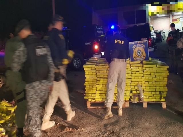 PRF registra quantidade recorde de drogas apreendidas nas rodovias federais em 2019