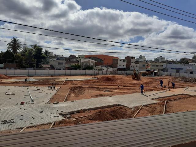 Veja fotos de como está ficando a Praça da Moura em Belo Jardim