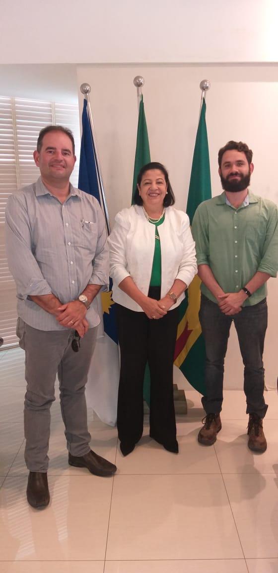 Representantes das obras do Novo Atacarejo fazem visita à Prefeitura de Arcoverde