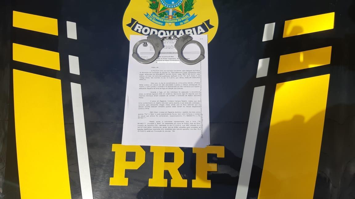 De alta periculosidade, homicida é detido em Sertânia pela PRF