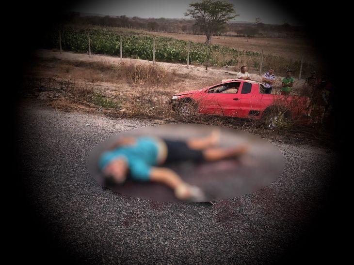Carro capota e deixa um morto e cinco feridos em Lajedo