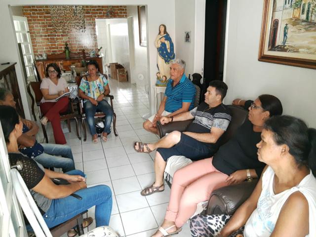 """Fundação Bitury se reúne com artesãos para discutir detalhes do """"Arte em Serra do Vento"""""""