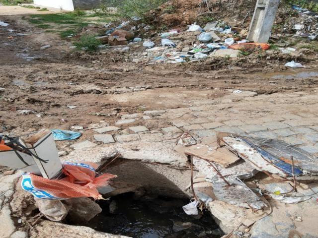 Moradores do bairro Maria Cristina relatam abandono pela prefeitura
