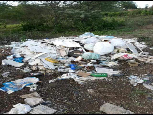 Vídeo: Morador denuncia depósito de lixo próximo à barragem do Ipojuca