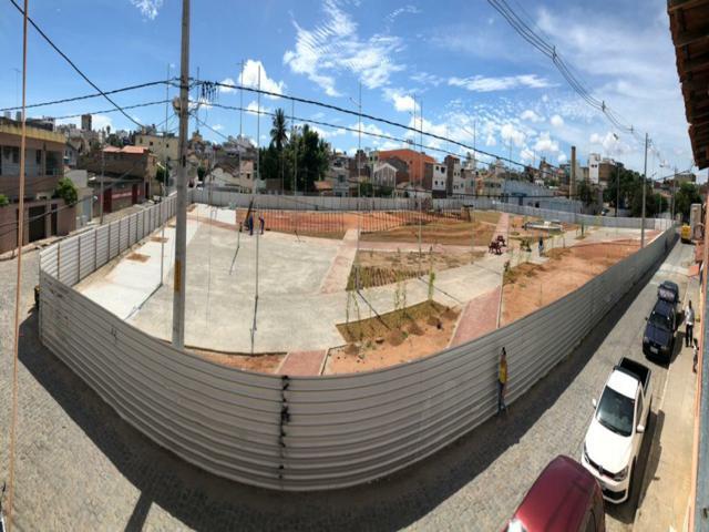 Com obras em reta final, veja fotos de como está ficando a Praça da Moura