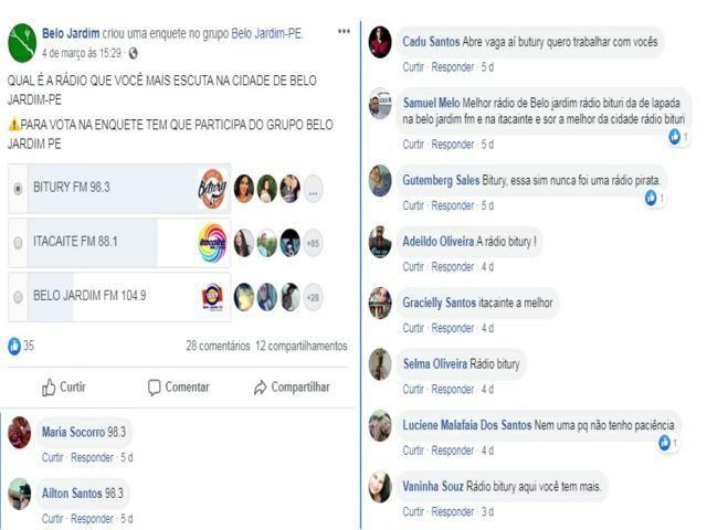 Rádio Bitury ganha enquete e é a mais ouvida em Belo Jardim