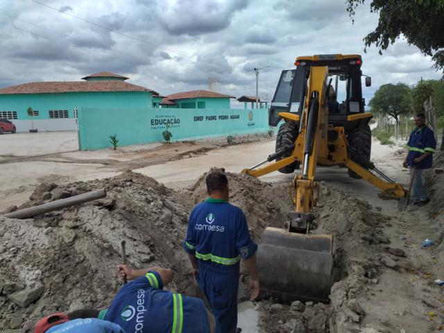 Comunidades voltam a ser abastecidas com água nas torneiras em Tacaimbó