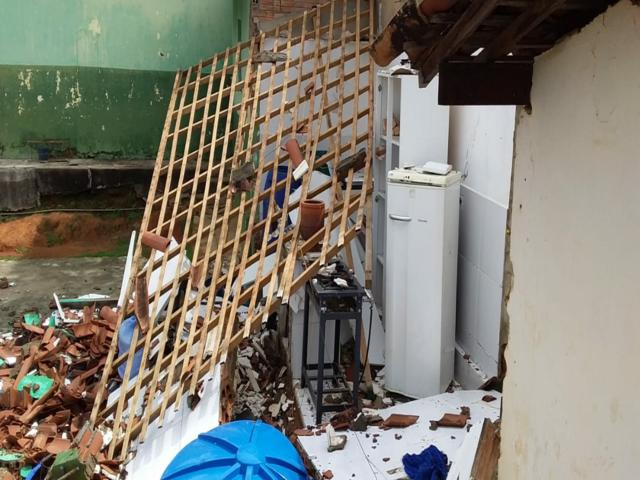 Escola em Serra do Vento é destruída por vazamento de gás