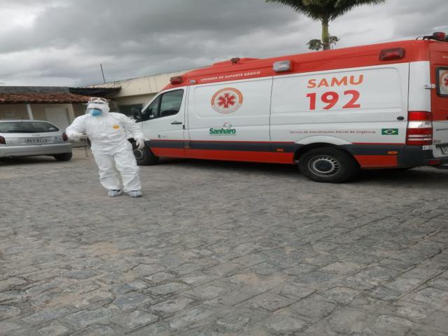 Sanharó: paciente com suspeita de Covid-19 é transferido para Recife