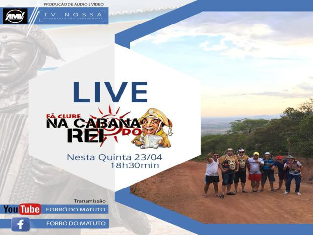 Programa Cabana do Rei promove live beneficente em Belo Jardim
