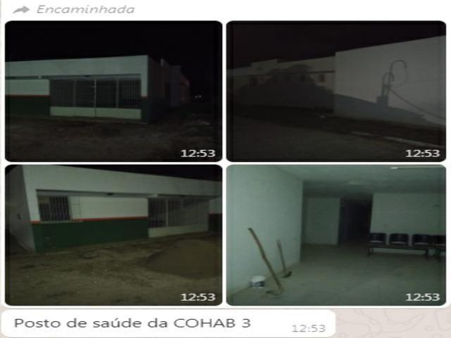 População denuncia abandono e escuridão em diversos bairros