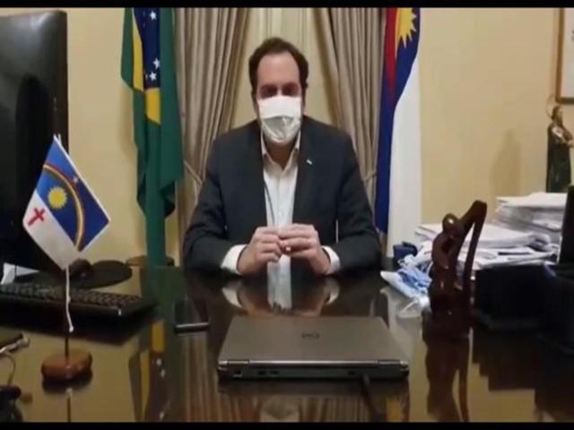 Veja: Governador de PE anuncia que está com Coronavírus
