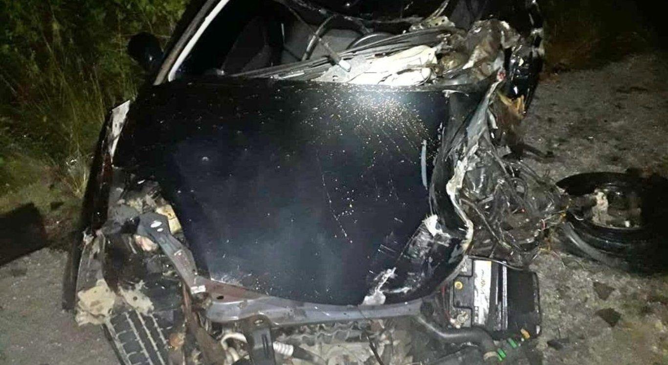 Homem morreu após colisão (Divulgação/PRF).