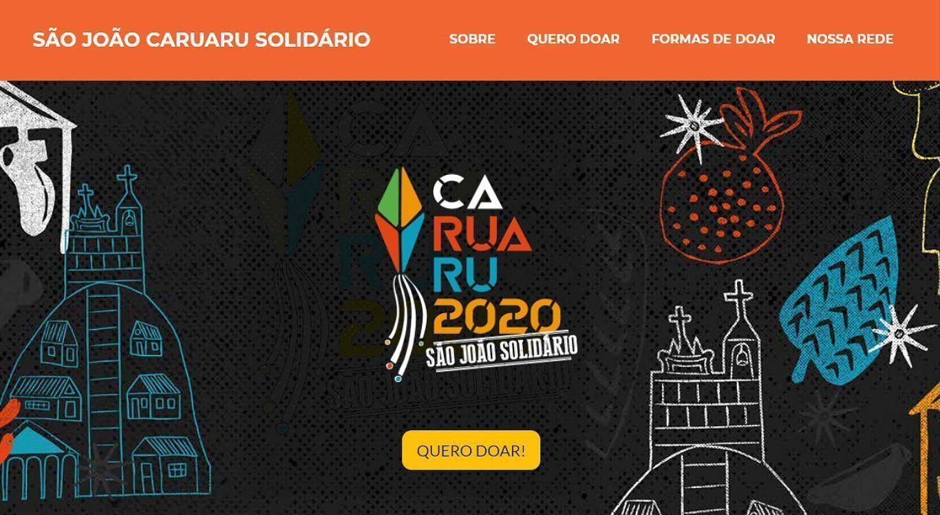 Reprodução/São João Caruaru Solidário.