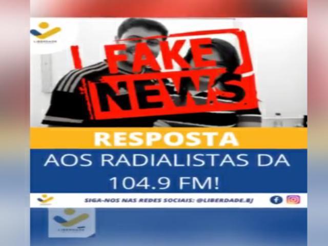 Veja: ONG Liberdade rebate acusações de radialistas ligadas ao ex-prefeito cassado e condenado