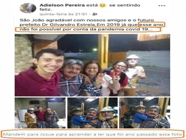 Veja: Cidadão desmente fake news publicada em blog de Belo Jardim