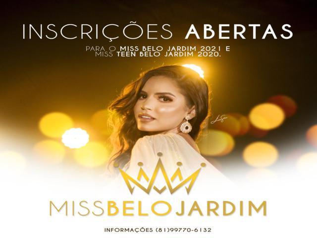 Inscrições para eleger a nova Miss Belo Jardim seguem até dia 30