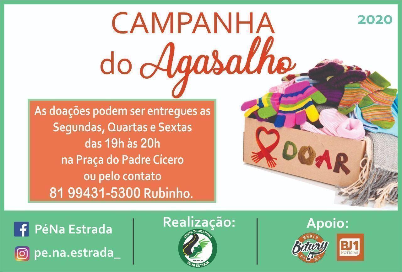 Grupo Pé na Estrada realiza campanha do agasalho em Belo Jardim