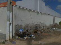 Cidadão denuncia lixão e esgoto ao redor de Policlínica do Santo Antônio