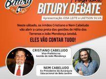 Bomba: Os irmãos 'Cabeludo' vão abrir a caixa preta das Gestões de Hélio e do ex-prefeito cassado, João Mendonça