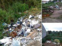 Pré-candidato denuncia lixo acumulado