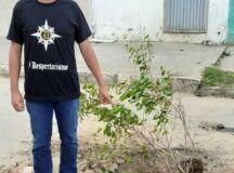 Eliel Alves cobra conserta de esgoto a céu aberto à Secretaria de Obras