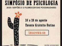 Faculdade promove 1° Simpósio de Psicologia online com inscrições gratuitas