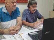 Gilvandro Estrela e Dr Maneco apresentam eixos de plano de governo em coletiva de imprensa