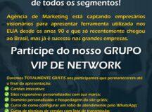 Agência oferece sites personalizados, cartões interativos e cursos grátis para comerciantes que participarem do Grupo Vip de Network