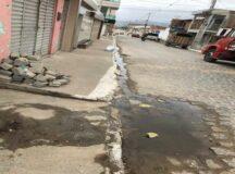 Moradores de Belo Jardim se queixam dos problemas da rua
